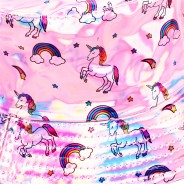 Pink Holographic Unicorn Hat 2