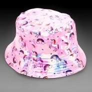 Pink Holographic Unicorn Hat 1