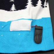 LED Let It Snow Hat 11 Battery Pack