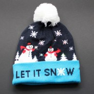 LED Let It Snow Hat 4