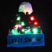 LED Let It Snow Hat 5