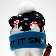 LED Let It Snow Hat 1