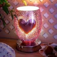 Heart 3D Freestanding Touch Control Oil/Wax Melt Burner 1