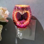 Heart 3D Plug In Oil/Wax Melt Warmer 1