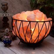 Himalayan Salt Lamp Basket 1