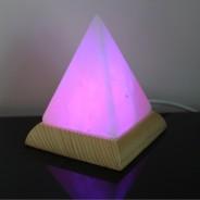 Himalayan Salt USB Pyramid Lamp (27102) 1