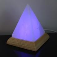 Himalayan Salt USB Pyramid Lamp (27102) 4