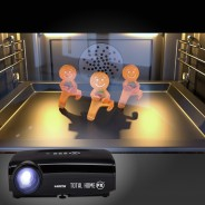 Total Home FX Special Effects Projector (800 Series HMDI) 16 Gingerbread Men