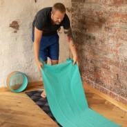 Yoga Towel for Hot Yoga - Grippy 1