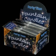 Partytime Ice Fountain Candles (48 Pack) 1
