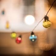 Multi Coloured Festoon Lights 4