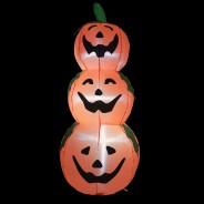 Inflatable Three Pumpkin Stack 2