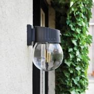 Intelligent Solar Nice Glass PIR Wall Light 2