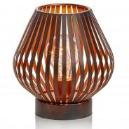 B/O Black Iron LED Lantern 3 Vase