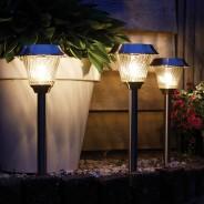 Intelligent Solar Mizar Stainless Steel Stake Light 1 Single light provided