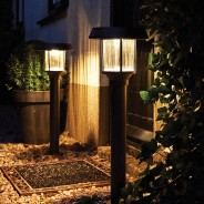 Intelligent Solar Pollux Stainless Steel Post Light 1
