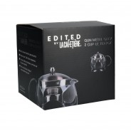 La Cafetiere Edited Gun Metal Grey 2 Cup Le Teapot 3
