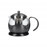 La Cafetiere Edited Gun Metal Grey 2 Cup Le Teapot 2