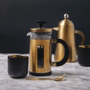 La Cafetiere 3 Cup - Brushed Gold 2