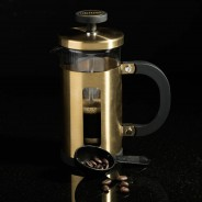 La Cafetiere 3 Cup - Brushed Gold 1