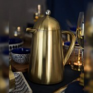 Brushed Gold 8 Cup La Cafetiere 1