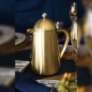 Brushed Gold 8 Cup La Cafetiere 2