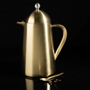 Brushed Gold 8 Cup La Cafetiere 3