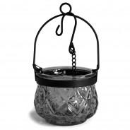 Indian Arts Moroccan Hanging Lantern 4 Grey