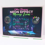 Large Neon Effect Frame 4