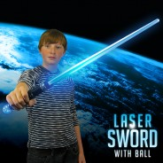 Light Up Laser Sword with Ball 1