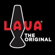 "14.5"" LAVA Brand Lava Lamp White/Blue 2"