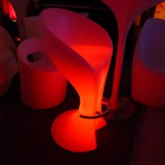 LED Barchair with Chrome Footrest 2