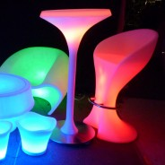 LED Barchair with Chrome Footrest 4
