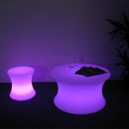 Light Up Mood Curved Table 4