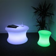 Light Up Mood Curved Table 6