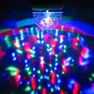 Sound Activated Disco Light Bulb (B22) 4