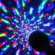 Sound Activated Disco Light Bulb (B22) 1