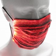 Light Up Rechargeable Face Mask 14 red
