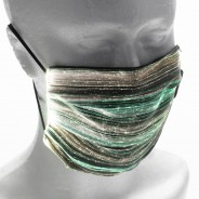 Light Up Rechargeable Face Mask 16 yellow/green
