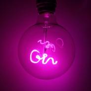 Pink Gin LED Filament Bulb 4