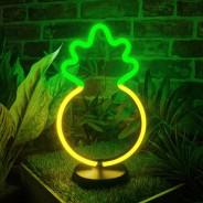 Pineapple LED Neon Table Light 1