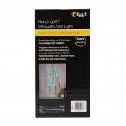 LED Silhouette Cactus Wall Light & Keyholder 5