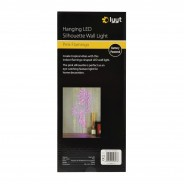Pink Flamingo LED Silhouette Wall Light 4