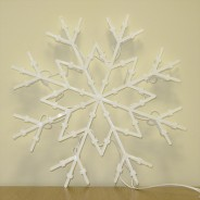 Snowflake Silhouette Light 4
