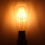 LED Squirrel Cage 6W B22 Bulb (LRB3-B22) 1