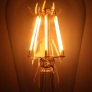 LED Squirrel Cage 6W B22 Bulb (LRB3-B22) 2