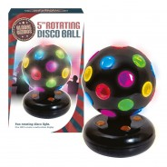"5"" LED Rotating Disco Ball 4"
