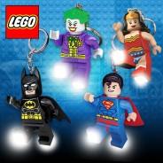 DC Lego Super Hero Keyring Lights 1