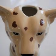Large Leopard Head Vase 6