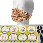 8 in 1 Leopard Face/Head Scarf  2